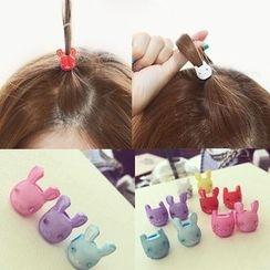 L for Love - Rabbit Mini Hair Claw