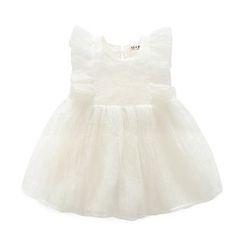 MOM Kiss - Baby Sleeveless Tulle Dress