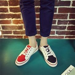 HANO - Colour Block Canvas Sneakers