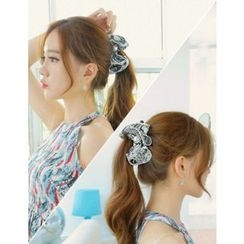 soo n soo - Faux-Pearl Bow Hair Clamp
