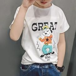 POLPO - Kids Printed Short-Sleeve T-Shirt