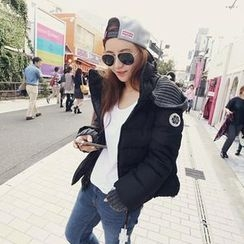 NANING9 - Hooded Puff Jacket