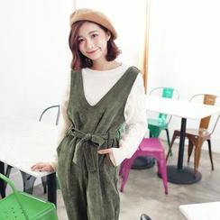 Tokyo Fashion - Corduroy Jumper Pants