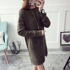 Qimi - 針織連衣裙