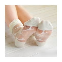 CherryTuTu - Lace Sheer Socks