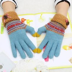 Magic Beauty 魔法美人 - 印花觸屏手套
