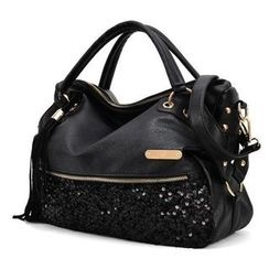Auree - Sequined Satchel