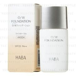 HABA - O/W Foundation SPF 23 PA++ (#04)