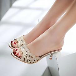 JY Shoes - Heel Sandals