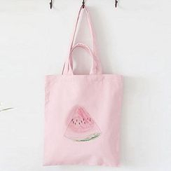 Aoba - Watermelon Print Shopper Bag