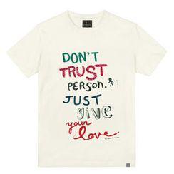 the shirts - Trust Print T-Shirt