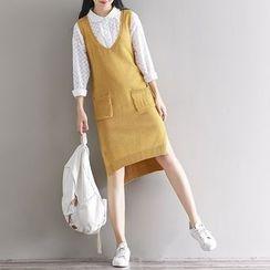 Emeline - 口袋针织背心裙