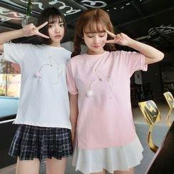 QZ Lady - Short-Sleeve Rabbit T-Shirt