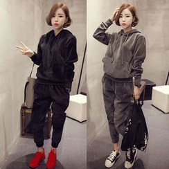 EFO - Set: Hooded Top + Pants