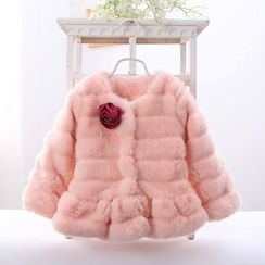 Youtale - Kids Furry Padded Jacket