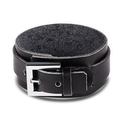 Tenri - Buckled Faux-Leather Bracelet