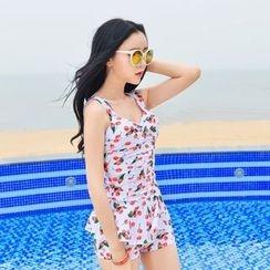 Rachel Swimwear - 印花坦基尼泳衣
