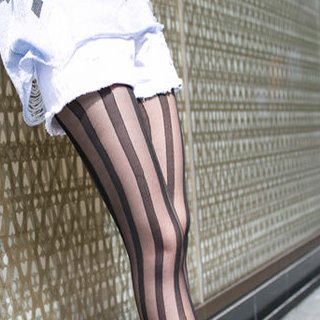 Clair Fashion - Striped Tights