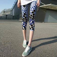 Kleggings - Polka Dot Cropped Leggings