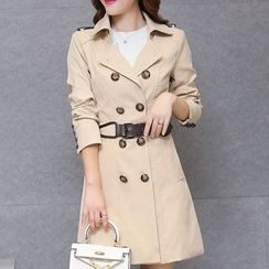 Donnae - Double-Breasted Trench Coat