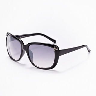 Moonbasa - Metal 'V' Accent Sunglasses