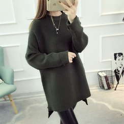Dream Girl - Plain Long Sweater