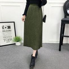 Romantica - Pleated Midi Skirt