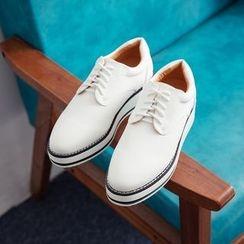 Charming Kicks - 厚底牛津鞋