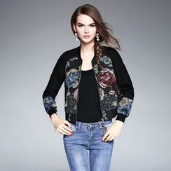 Ozipan - Wool-Blend Embroidery Jacket