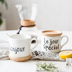 Modern Wife - 字母咖啡杯