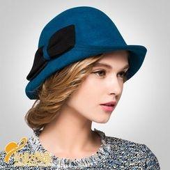 BADA - 蝴蝶結氈帽