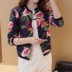 Romantica - Printed Cropped Jacket