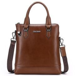 Filio - Genuine Leather Tote with Shoulder Strap