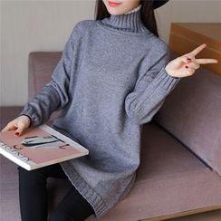 Romantica - Mock Turtleneck Sweater