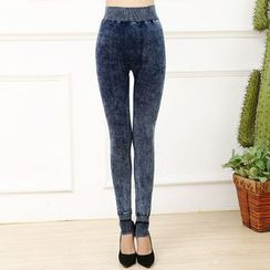 Crytelle - Fleece-lined Skinny Jeans