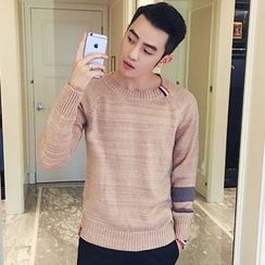 ZZP HOMME - Panel Knit Top