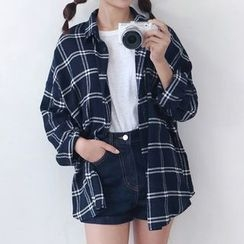 Dute - Plaid Blouse
