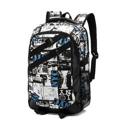 Yiku - Printed Backpack