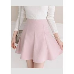 DEEPNY - Zip-Back A-Line Mini Skirt