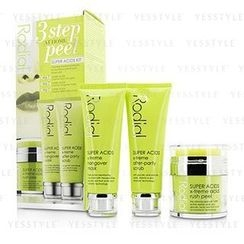 Rodial - Super Acids Kit - 3 Step At Home Peel: Peel 50ml/1.7oz + Mask 75ml/2.5oz + Scrub 75ml/2.5oz