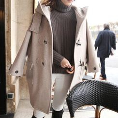 OTTI - Plain Long Duffle Coat