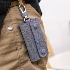 MR.BLUE - Buttoned Key Pouch