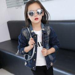 Princess House - Kids Buttefly Denim Jacket