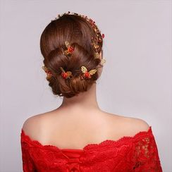 Suaylla - Embellished Butterfly Hair Pin