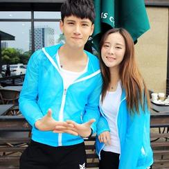 Fireon - Couple Matching Hooded Light Jacket