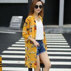 Tonya - Print Chiffon Jacket