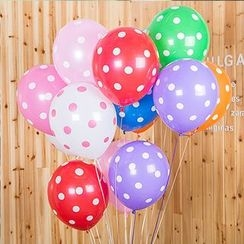 With Love - Set of 100: Polka Dot Balloon