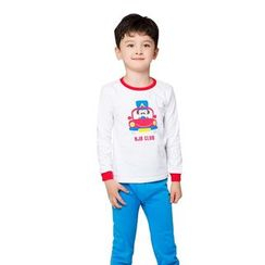 Aquafaba - Kids Pajama Set: Long-Sleeve Print T-Shirt + Pants