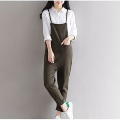 Clover Dream - Strappy Jumper Pants