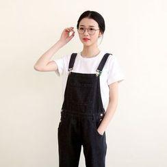 三木社 - 靴形背帶牛仔褲